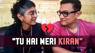 Aamir Khan and Kiran Rao speak on their divorce for the first time. [EXCLUSIVE]