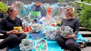 Undersea Garden: A Collaborative Art Installation Created From Plastic Marine Debris