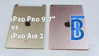 iPad Air 2 vs. iPad Pro 9,7