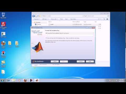 Installing Matlab R2015a with crack - смотреть онлайн на Hah