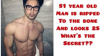 How this 51 year old man looks 25 years old | chuando tan who is 51 years but looks 25 years