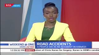 Four People die in an accident in Kibwezi