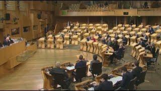 LIVE: Scottish Parliament votes on second independence referendum