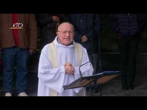 Chapelet à Lourdes du 9 mars 2020