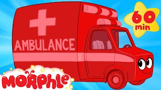 My Magic Ambulance  +1 Hour Morphle Kids Videos Compilation With Cars Trucks Bus Etc
