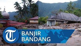 Banjir Bandang Landa Agam Sumbar, Dua Rumah Hanyut dan Satu Orang Tewas