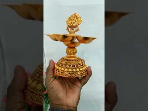 Kuthu Vilakku - Brass Traditional Ornamental Lamp Latest