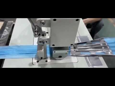 Semi Automatic 3Ply Face Mask Making Machine