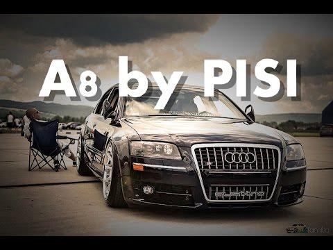 Audi A8 D3 by PISI 4,2 V8 ROHANA wheels RC10 Custom Familia Zakopane Nowotarska24.com