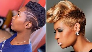 SHORT TRENDY NATURAL HAIRSTYLES FOR AFRICAN AMERICAN WOMEN | CHIC FALL 2020 & WINTER 2021 HAIRCUTS,