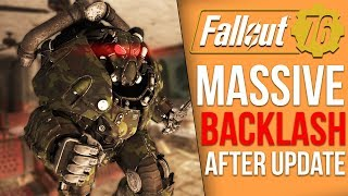 Fallout 76's Latest Update Adds In Several New Bugs, Fans are Angry
