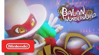 New Switch Trailer for Balan Wonderworld!