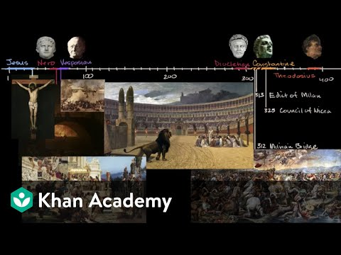 Christianity In The Roman Empire Video Khan Academy