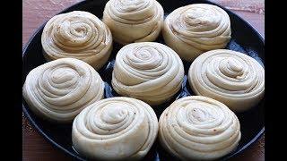 面粉別做饅頭包子,教妳解饞新吃法,加3個紅薯,比手抓餅還好吃