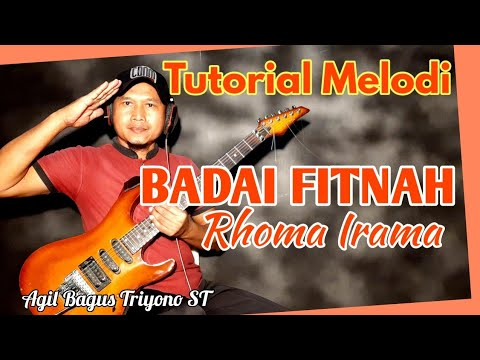 Lagu BADAI FITNAH Rhoma Irama Video Cover Tutorial Melodi Dangdut Termudah Mp3
