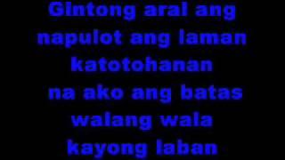 Batas - Mga P.I Nyo Lyrics