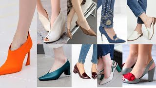 Sandals /Colour High Heels Shoes/ Low Heel /Extremely And Gorgeous  High Heel Other Sizes Shoes