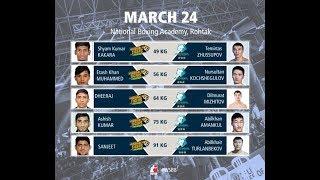 (HD)  «Astana Arlans»  vs   «Indian Tigers»  Полный Бой  24.03.2018