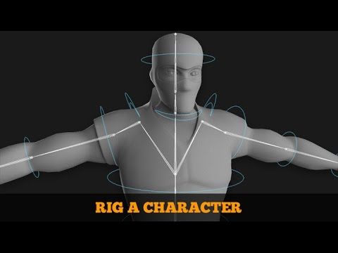 Rigging for Animation Video Tutorial