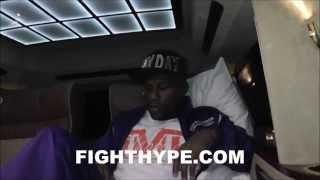 MAY DAY AFTERMATH PT. 3: FLOYD MAYWEATHER HEADS TO THE HOSPITAL AFTER LATE-NIGHT SNACK