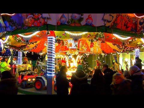 Рождественские гулянья, еда, сладости, напитки. Рождество в Германии.