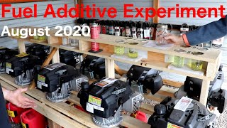 Fuel Additive Experiment - August 2020