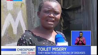 Flamingo residents left without toilets after massive floods