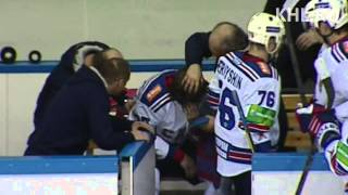 Бой КХЛ: Григорьев - Макаров / KHL Fight: Grigoryev - Makarov