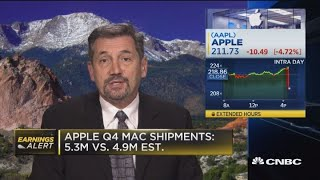 Apple doing well, but 'treading water': Expert