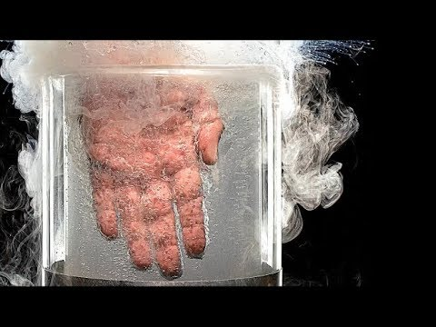 LIQUID NITROGREN Vs OBJECTS  (Experiment)