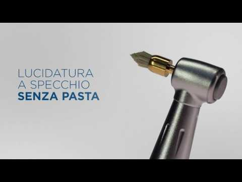 Sistema di lucidatura dentale a specchio – Occlubrush (IT)