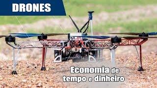 A explosão dos drones na agricultura