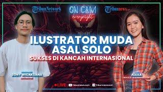 Sosok Ilustrator Muda di Solo yang Sudah Sukses di Kancah Internasional