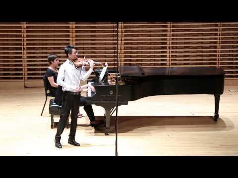 Ming-hang Tam - Prokofiev Violin Concerto No. 1 in D, Op. 19 (1916-17): Andantino & Scherzo