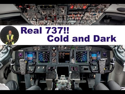 Download Boeing 737 From Cold And Dark To Ready For Taxiing Video