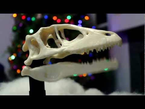 Jingle Bells Dinosaur Skull