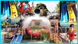 น้องบีม | เล่นสวนน้ำที่โรงแรม เที่ยวนครราชสีมา เขาใหญ่