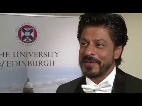 Bollywood King Khan Receives Honorary Degree
