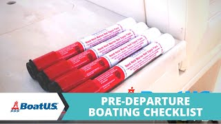 Pre-Departure Boating Checklist: Before You Go Out on the Water | BoatUS