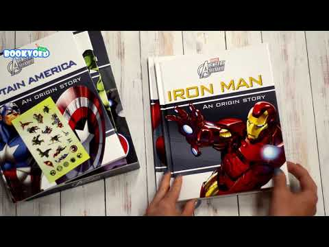 Видео обзор Marvel Avengers Assemble Story Collection - 4 книги в наборе
