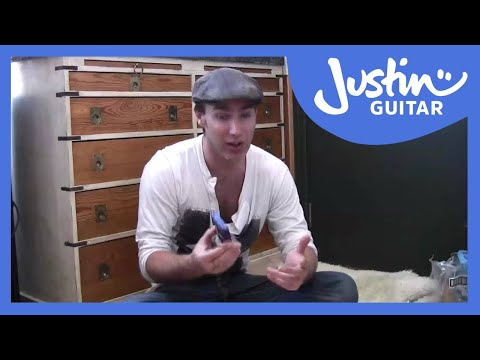 Guitar lesson for beginners: What guitar accessories do u need? (BC-103) capo, strings, picks