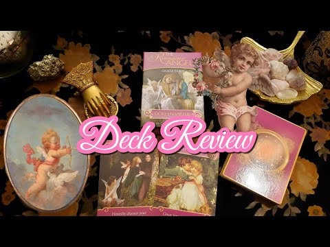 💘 😇The Romance Angels 💘Oracle Cards || Deck Review Doreen Virtue