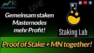 StakingLab - Zusammen staken für mehr Profit! - simpel