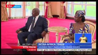 KTN Prime: President flies to Uganda to enter trade talks with Yoweri Museveni