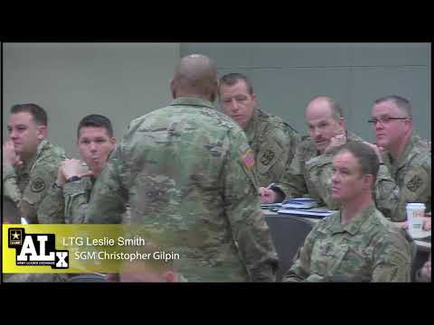 Army Profession Forum 2019: SSG Matthew Melendez