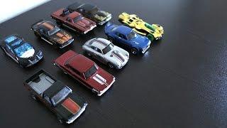 Unboxing + Car Smash Hot Wheels 9 Cars Gift Pack - UBWYS