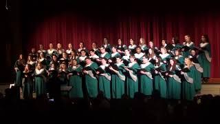 2017 Lake Catholic Christmas Concert Concert Choir 3 Once Upon a December