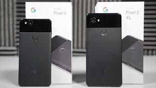 Pixel 2 & Pixel 2 XL UNBOXING!