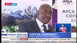 Kenya's earning from coffee to decrease