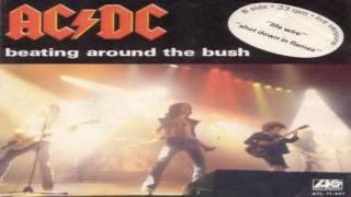 AC DC   Beating Around The Bush Single